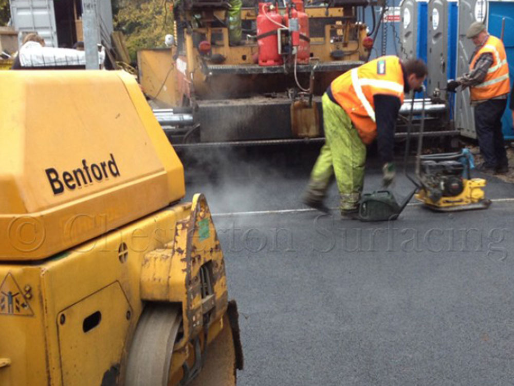 surface dressing in road construction