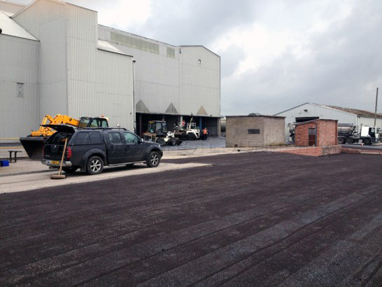 Surface Dressing and Restoration Industrial Commercial Estate